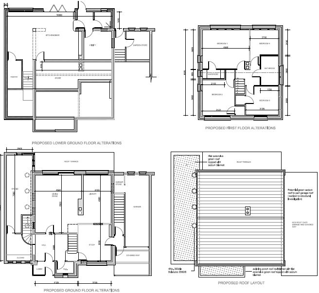 Pin Economic House Plans Elevations And Section On Pinterest