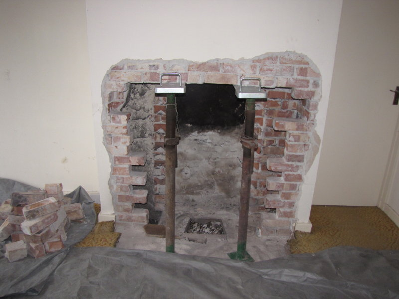 The Chimney Opening Is Enlarged My Fourwalls