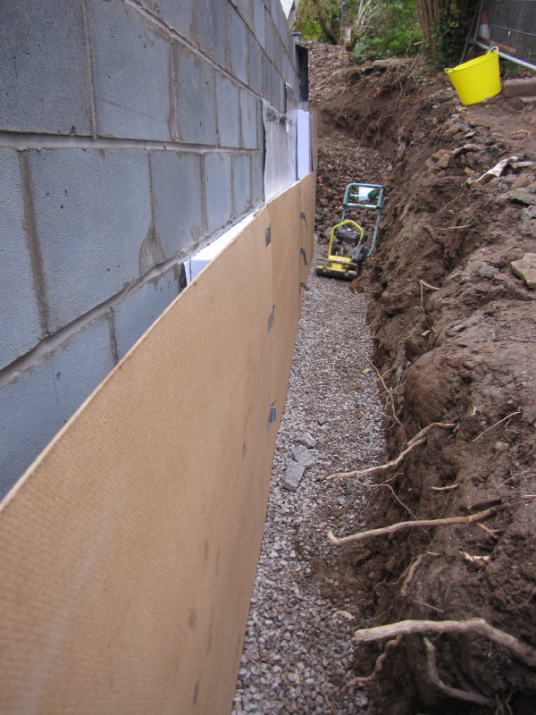 Insulation my fourwalls for Stone wall insulation