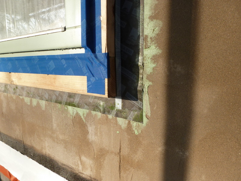 how to add insulation to bay window walls