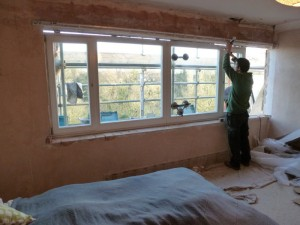 Bedroom window fitting